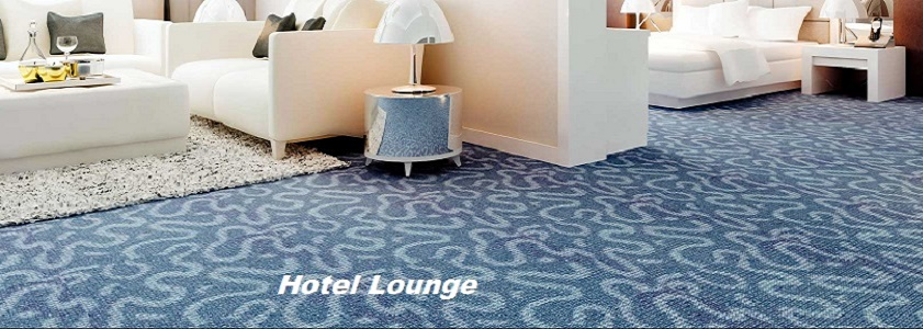 Commercial carpet cleaning - hotel Lounge