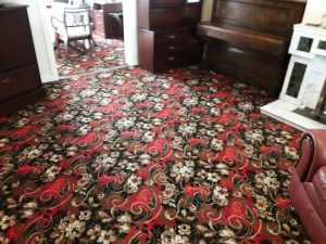 cleaned old diningyoom carpet